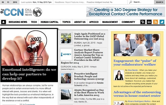 Callcenternews! Digital is a specialized magazine dedicated to contact centers world
