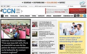 Call Center News - La Revista Digital dedicada a la industria de los Centros de Contacto más leída del habla hispana
