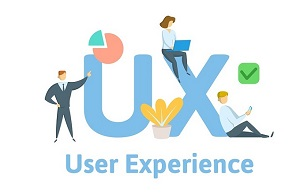 Ux, User Experience, User Interface. Concept With Keywords, Lett